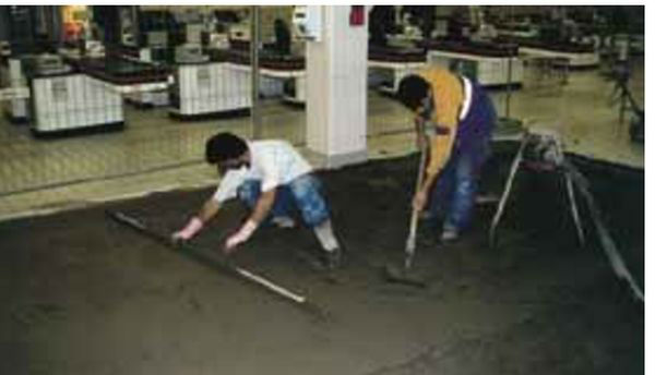 Floor levelling bostik
